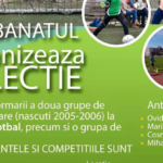 Selecție pentru grupele 2005-2006 – FOTBAL, ATLETISM, HANDBAL